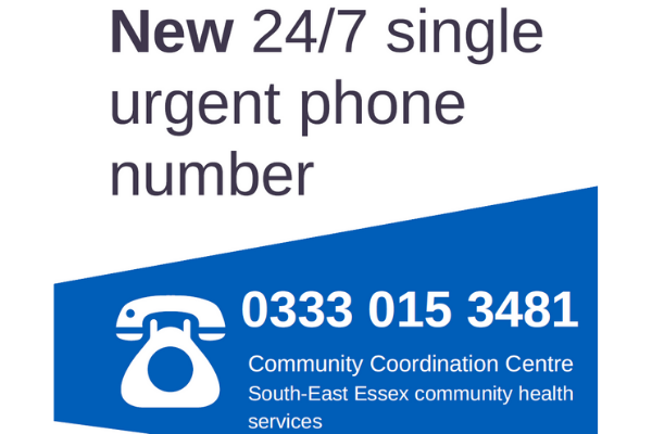 New 24/7 single urgent phone number. Call 0333 015 3481 for urgent enquiries. Non-urgent enquiries should utilise the other channels